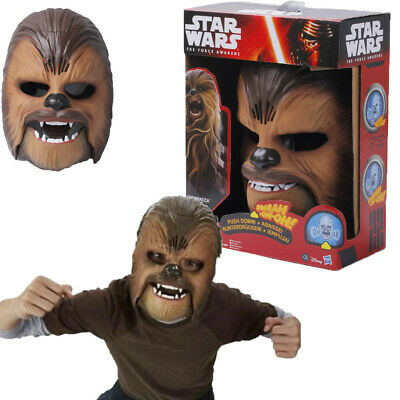 Star Wars The Force Awakens Chewbacca Electronic Mask Voice Gift Party Toy
