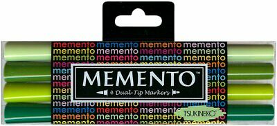 Memento Dual Tip Markers GREENHOUSE PM-100-002