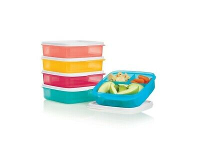 Tupperware Lunch It Containers - YOUR CHOICE OF COLOR - Divided Dish - Bento Box