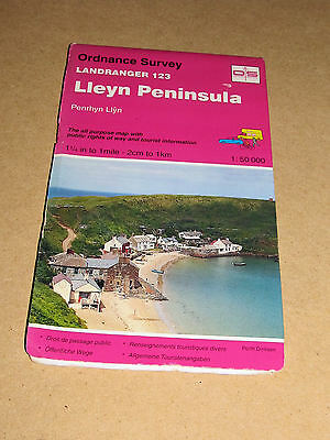 Lleyn Peninsula by Ordnance Survey (Sheet map, folded, 1990)