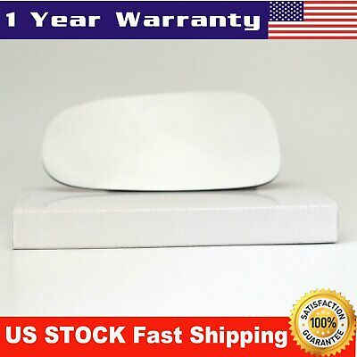 Mirror Glass Left LH Driver Side Full Adhesive for 03-11 SAAB 9-3 9-3x 93 9-5 95