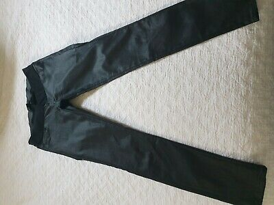 Soon Maternity Coated Black Jeans Size 12
