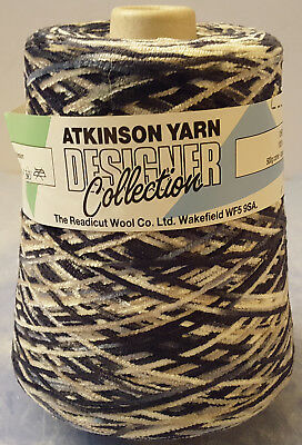 ATKINSON YARN 500g cone DESIGNER COLLECTION 100% acrylic CHENILLE made in USA