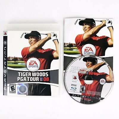 Tiger Woods PGA Tour 08 (Sony PlayStation 3, 2007) Complete