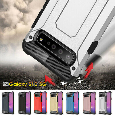 For Samsung Galaxy S10 5G Shockproof Hybrid Rugged Armor Hard Case Cover