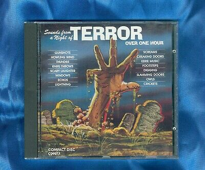 SOUNDS FROM A Night Of Terror Spooky Halloween Haunted House