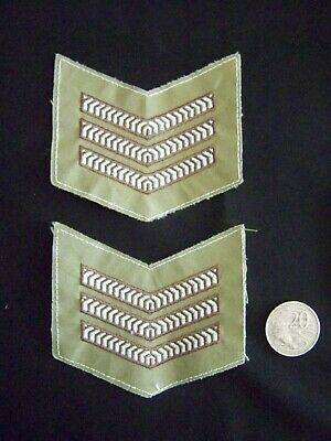 Pair Army Stripes Sargent