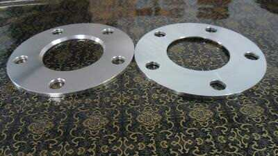 2 PCS billet HubCentric Wheel Spacers 5x112mm 6mm thickness 66.6mm hub bore