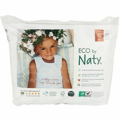 ECO by Naty PANTS Size 5 - 20 Pack
