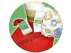 Pea Pods One Size Modern Cloth Nappy Starter Gift Pack
