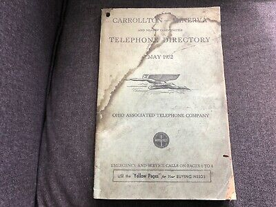 YELLOW PAGES DIRECTORY Sandusky & Vicinity OH 1959 Ohio Bell