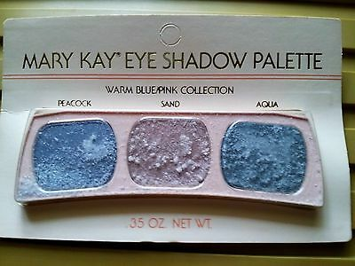 0497 Mary Kay Eye Shadow Palette Peacock Sand Aqua Vintage HTF PLS READ