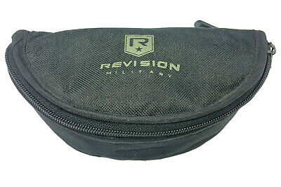 Revision Military Sunglasses Eye Glass Black Carry Case / Holder / Pouch Us Army