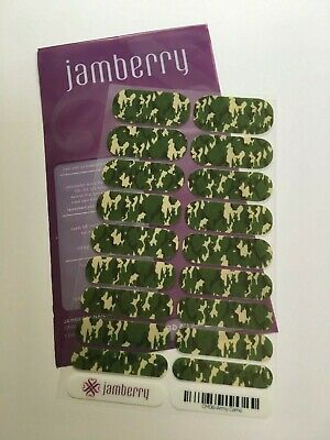 Jamberry Nail Wraps Full Sheet Army Camo - CM06 - Retired