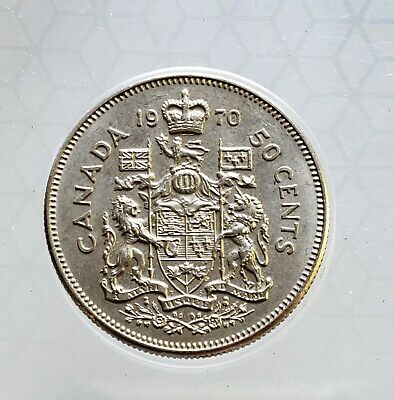 1970 Canada Fifty Cent ($.50) Coin ~ Check It Out `