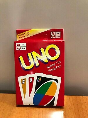 US-Age 7+ Fast Shipping-UNO Card Game-Original size