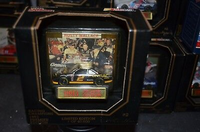 Racing Champions Nascar  Rusty Wallace  Premier Edition 1/64 Scale 1993 Sealed