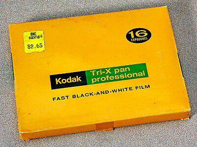 Vintage Tri-X Professional – 16 Exposures Txp 525 Film Pack