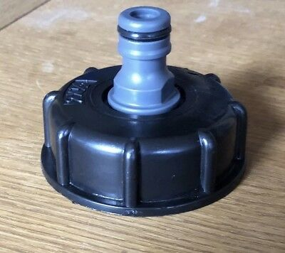 ibc S60X6 water tank outlet fitting/connector/adapter Hose Pipe To Water Bowser