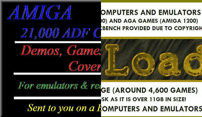 COMMODORE AMIGA ADF Disk Collection - PD, Music, Demos and