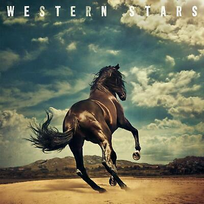 Western Stars by Bruce Springsteen Audio CD Columbia Rock NEW records late '60s