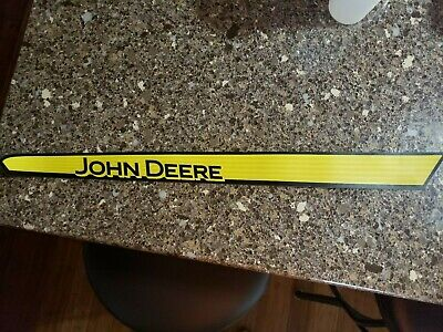 John deere Upper Hood RH Decal