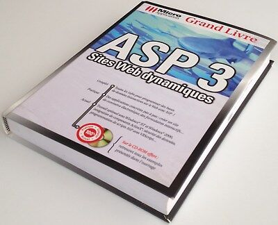PROMO ASP 3 SITES WEB DYNAMIQUES micro application livre guide informatique