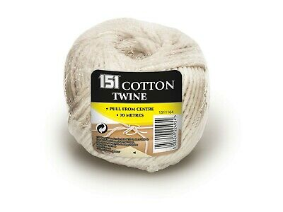 70m Cotton Twine String Rope Household Home Office Rope Garden Art Craft Wrap