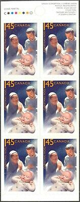 2005 Canada #2127a Complete Self-Adhesive Booklet (#316) of 6 Christmas Stamps