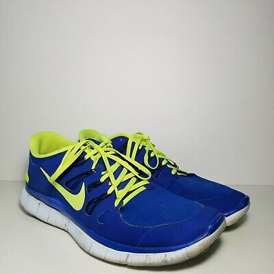 get cheap 5bdf3 97f54 Nike Free 5.0 Mens Running Shoes Size Us 14 Blue Flash Green Pre-Owned