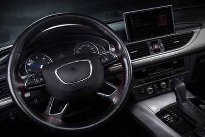 Audi A3 Steering Wheel Cover A1 / A4 / A6 / Pu Leather Diy