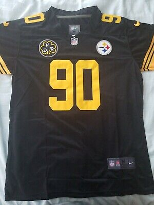 1b4c42163fa TJ WATT PITTSBURGH Steelers #90 jersey all stitched Brand NEW! DMR ...