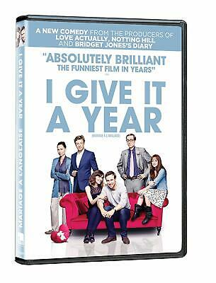 I Give It A Year (Rose Byrne, Anna Faris) *New Dvd*