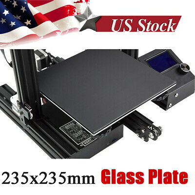 Creality 3D Ender-3 thick 4mm Ultrabase Build Surface Glass Plate 235x235mm B2U0