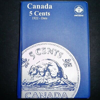 103 Canada 5 Cents 1922-2018, All Different, No 1925 or 1926 Lot B2