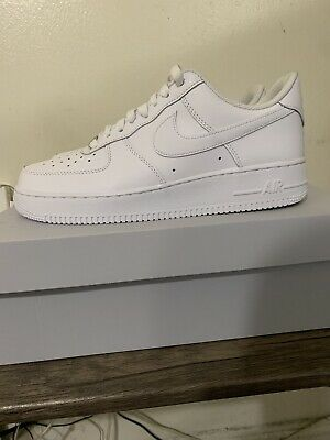 best service 61ea9 e241c Nike Air Force 1  07 White Size 9