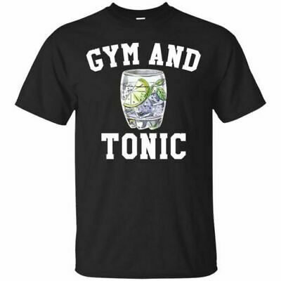Gym And Tonic Tshirts Tee size M3XL US 100 cotton mens clothing trend 2019