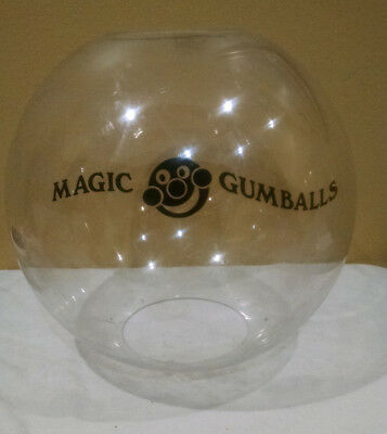 Huge Big Magic Vending Gumball Gum Ball Acrylic Globe Sphere About 56""
