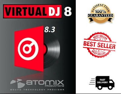 Virtual DJ Pro Infinity 8.3 for Windows - FULL Version - Digital Download