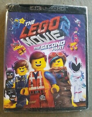 The Lego Move 2: The Second Part (4K Ultra HD+Blu-Ray+Digital) NEW