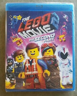 The LEGO Movie 2: The Second 2nd Part (Blu-ray/DVD/Digital)  New