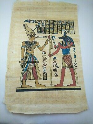 3 MEDIUM PAPYRUS RARE ANCIENT EGYPTIAN MODERN ANTIQUE Pharaoh Papyrus Replica
