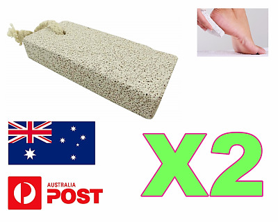 Pumice Stone Natural Foot Scrubber  Hard Dead Skin Remove Pedicure Natural