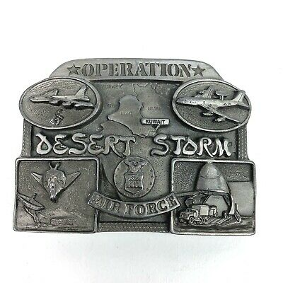 Operation Desert Storm Air Force Belt Buckle Limited Edition 1217 of 5015 Rare