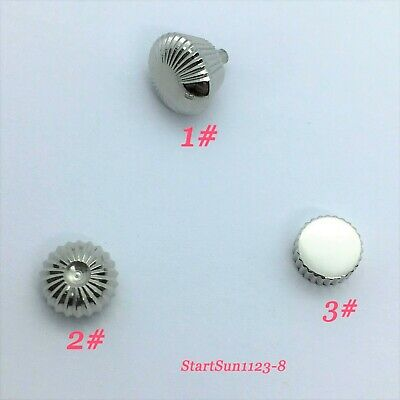 316L Stainless Steel Watch Crown fit Seagull ST36 Eta 6497/6498 Movement C02