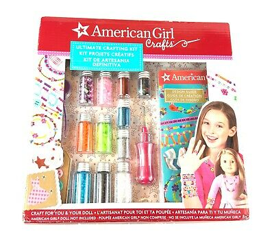 Ultimate Crafting Kit American Girl Crafts For Dolls And Kids Toys