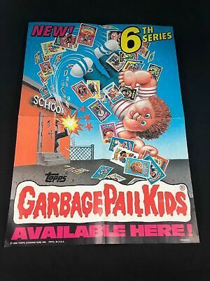 "Garbage Pail Kids Topps Chewing Gum 6th Series Poster 10"" X 14"""