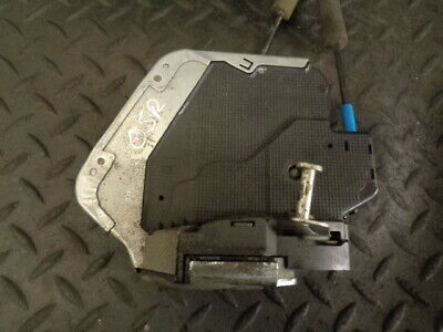 2010 Toyota Avensis 2.0 D-4D T2 4Dr Saloon Drivers Side Rear Door Lock Catch