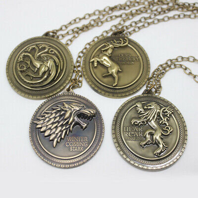 Game of Thrones Necklace Jewelry Holiday gift Unisex-torque