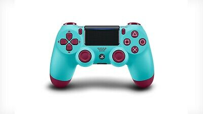 New Genuine Official Sony DualShock 4 V2 Playstation 4 PS4 Controller Berry Blue